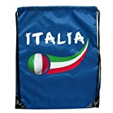 Supportershop Italy Royal Gymbag - Blue, One Size by Supportershop