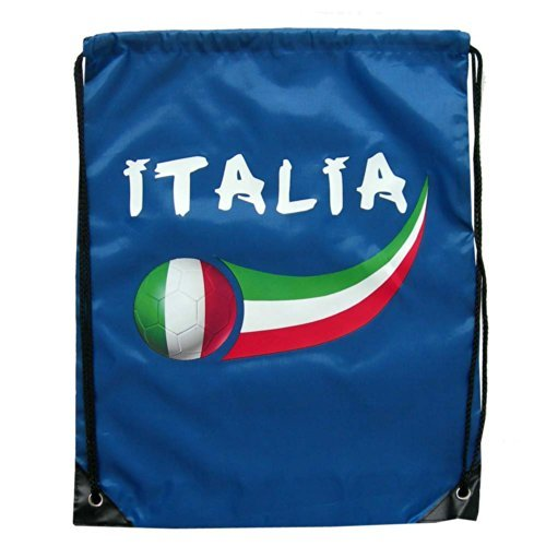 Supportershop Italy Royal Gymbag - Blue, One Size by Supportershop by Supportershop