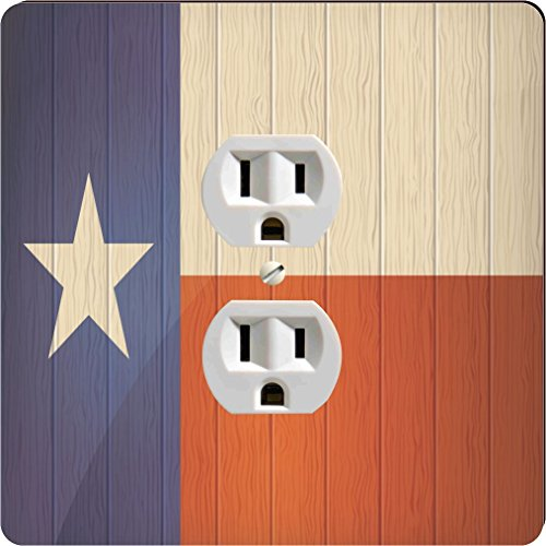 Rikki Knight 8656 Outlet Texas Flag On Distressed Wood Design Outlet - Houston Outlets Texas