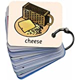 Picture Exchange Communication Keyring (AAC) Food & Drinkby BSL for Kids