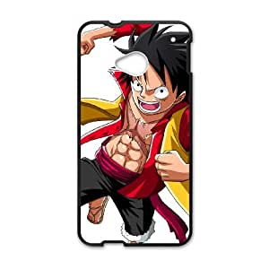 HTC One M7 Cell Phone Case Black Luffy Vibz