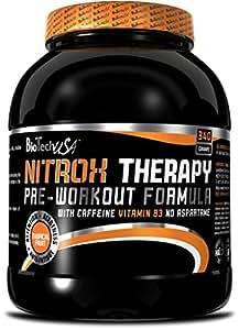 Biotech USA Therapy Nitrox y Energizante Sabor Uva Azul - 340 gr