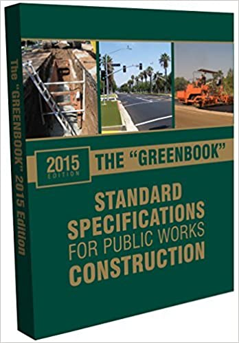2015 Greenbook: Standard Specifications for Public Works