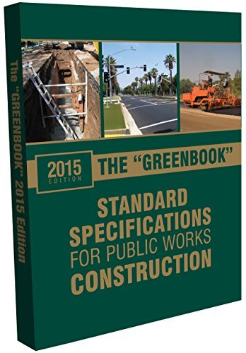 (2015 Greenbook: Standard Specifications for Public Works Construction)