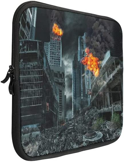 Unique Custom Cruel and Merciless War Print Womans Briefcase Soft Case Laptop Bag Briefcase Protective for MacBook Air 11