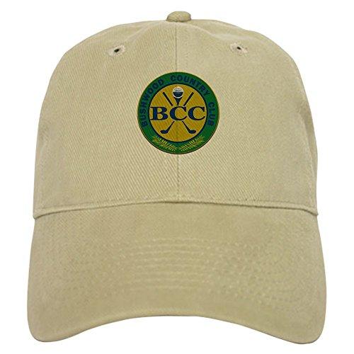 CafePress Bushwood Country Club Cap Baseball Cap with Adjustable Closure, Unique Printed Baseball Hat Khaki