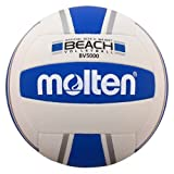 Molten Elite Beach Original Design Volleyball, Silver/Blue