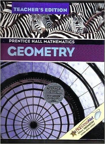 Amazon geometry teachers edition prentice hall mathematics geometry teachers edition prentice hall mathematics tch edition fandeluxe Image collections