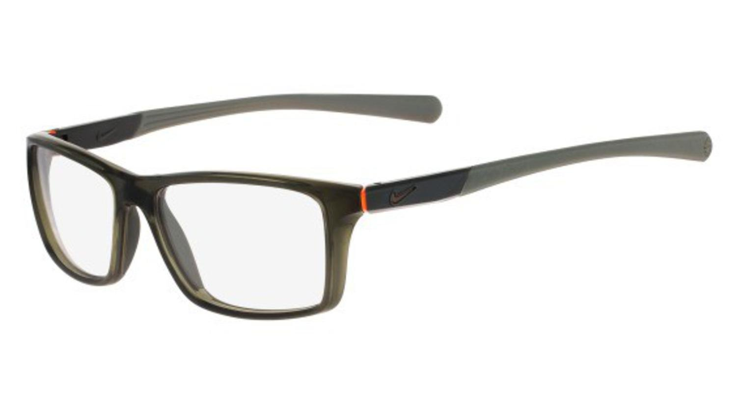 Eyeglasses NIKE 7087 083 CARGO KHAKI-TOTAL ORANGE
