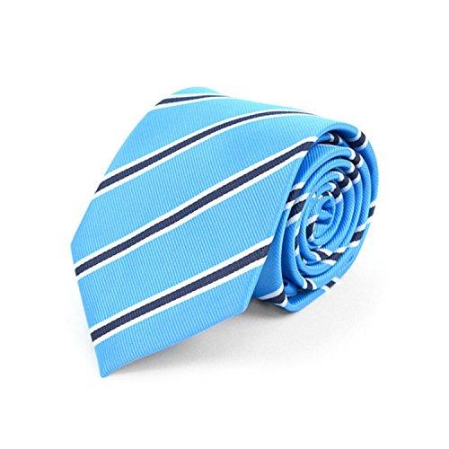 Woven Poly Mens Tie (Men's Striped Mircofiber Poly Woven Tie)