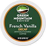 Keurig Green Mountain Coffee Flavored French Vanilla Decaf, Light Roast, 96 Pack