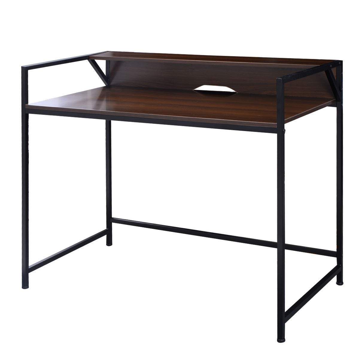 KING77777 Modern Simple and Unique Compact Design Simplistic Style Desk Computer Office Premium Quality Material Furniture by KING77777 (Image #1)