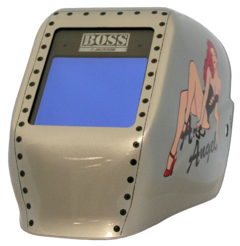 Jackson Safety 24041 W50 Boss Arc Angel HLX 100 3-N-1 Variable Auto-Darkening Filter Welding Helmet (Pack of 2)