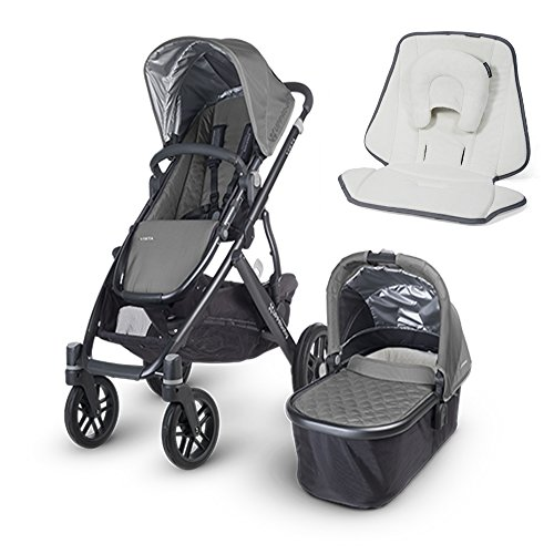 UPPAbaby 2015 Vista Stroller With UPPAbaby Infant SnugSea...