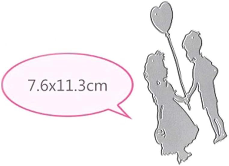Fotopapier Handwerk Pr/ägen DIY Herstellung Geburtstag Geschenk Kinderballon Scrapbooking Pr/ägeschablonen Stanzformen Schablonen F/ür Scrapbooking Karten Koobysix Stanzschablone