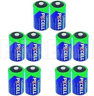Lote de 10 pilas Accu batería CR2 Litio (CR15270) 3 V 850 mAh ...