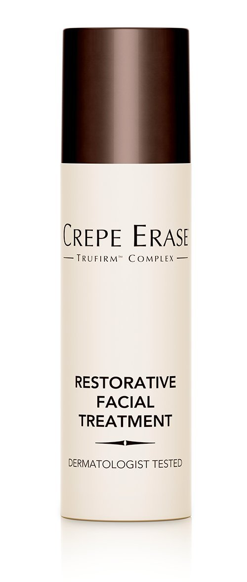 Crepe Erase – Restorative Facial Treatment – Nourishing Moisturizer – Coconut Oil for Fine Lines and Wrinkles and TruFirm Complex – 0.5 Ounces – CS.0043 Guthy Renker - Crepe Erase
