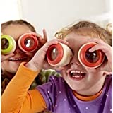 Efbock Magic Bee Eye Effect Kaleidoscope Wooden Kids Toy Prism to Observe the Colorful World 2pcs