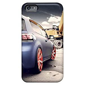 iphone 5 / 5s PC phone covers Scratch-proof Protection Cases Covers case blue golf gti