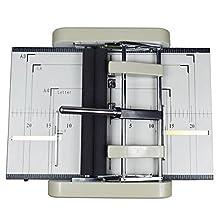 Automatic Booklet Maker paper folder stapler machine Book automatic folding machine 110V