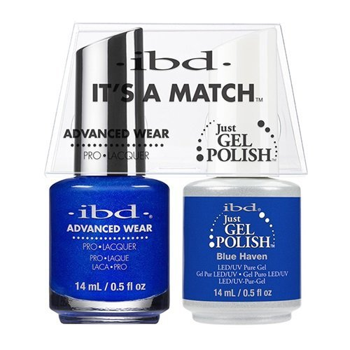ibd Advanced Wear Color Duo Blue Haven #547 UV Gel Color