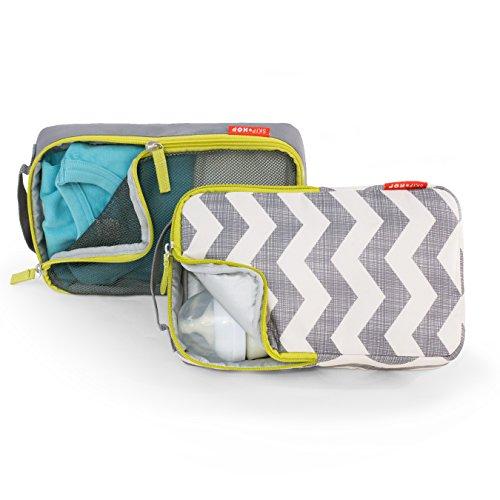 Skip Hop Forma - Bolsa de aseo para bebés negro acolchado Gris