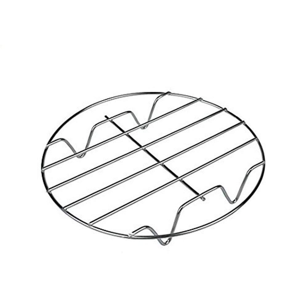 ... accesorio de cocina para horno soporte fit para freidora de aire para cocinar al vapor de acero inoxidable multifunción Instant Pot olla a presión ...