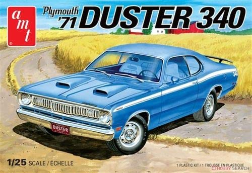 Dodge Model Kit - AMT 1971 Plymouth Duster 340 Model Car Kit