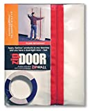 ZIPWALL ZDC-PK12 Zipdoor Commercial Door Kit for Dust Containment (12-Pack)
