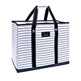 SCOUT 3 Girls Bag, Extra Large Water Resistant, Tote Bag, For the Beach, Pool and Everyday Use, Zips Closed, Blue Book