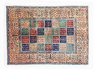 Pure Natural Wool Turkmen Elite Handmade Carpet (1.76m X 2.36m)