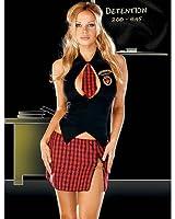 Women's Reform Schoolgirl DropOut Costume Sexy Dress