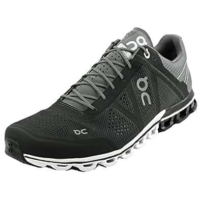 Amazon.com | On Shoes Men's Cloudflow (12.5, Black/Asphalt