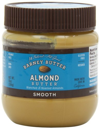 Barney Butter Smooth Almond Butter, 10-Ounce Jars (Pack of 3) Butter 10 Oz Jar