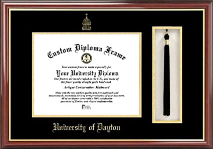 Buy Ncaa Dayton Flyers Tassel Box And Diploma Frame Online At Low Prices In India Amazon In
