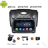 Android 6.0 Indash Car DVD Player Radio Stereo Navigation GPS System for Chevrolet S10/Isuzu D-Max 2013-2014