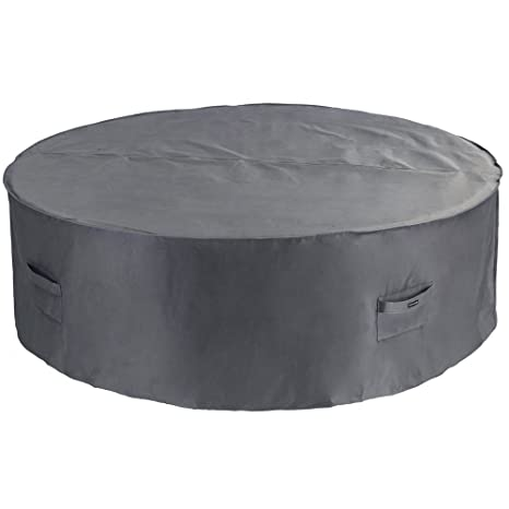 Patio Watcher Medium Round Patio Table and Chair Set Cover Durable and Waterproof  Outdoor Furniture Cover - Amazon.com : Patio Watcher Medium Round Patio Table And Chair Set