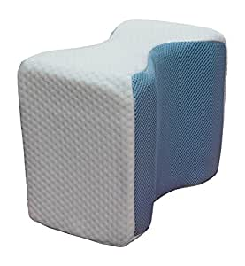 Amazon Com Memory Foam Knee Pillow With Laminated Cooling