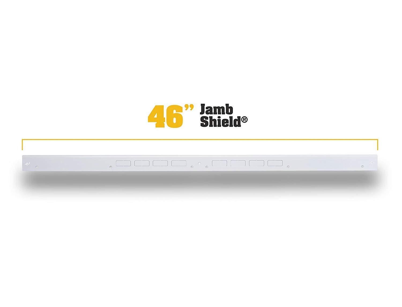 Door Armor MAX – Complete Door Reinforcement Set For Jamb, Frame, Strike Plate — DIY Home Door Security – White by Armor Concepts (Image #4)