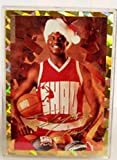 SHAQ Shaquille O'neal Special Christmas Card 1 of 15,000 NBA Basketball Card Shaq wearing a Stocking Santa Hat