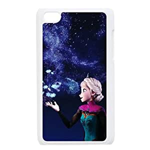 YUAHS(TM) New Fashion Cover Case for Ipod Touch 4 with Frozen YAS033934