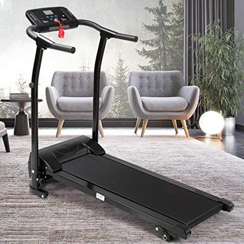 Finelylove Treadmill for Home Gym Running Machine, Multi-Functional LED Display Electric Folding Treadmill