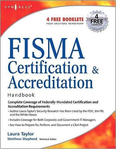 Amazon.com: FISMA Certification & Accreditation Handbook ...