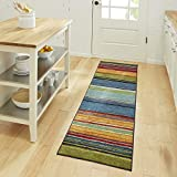 Mohawk Home New Wave Rainbow Stripe Accent Area