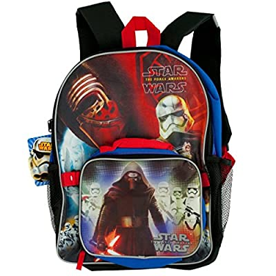 Star Wars Classic Characters Kids School Backpack with Insulated Lunch Bag (Assorted color)