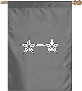 N/ Coast Guard Rank O-8 Rear Admiral Polyester Flag Banner One Size