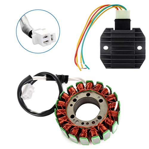 ECCPP Voltage Regulator Rectifier Magneto Generator Engine Stator Coil Kit Fit for 1999-2002 Yamaha YZF600R 1999-2001 Yamaha YZF-R1 1999-2002 Yamaha YZF-R6