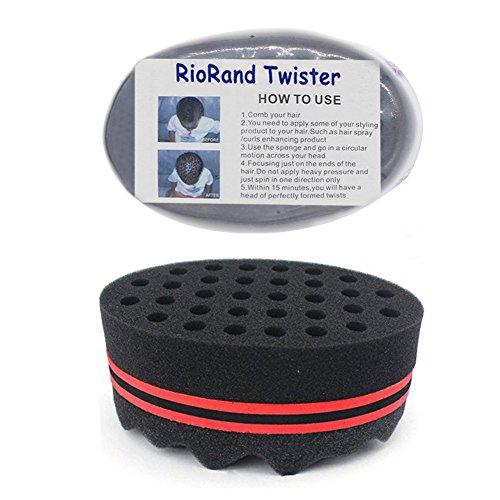 RioRand Hair Styling Two-in-One Magic Barber Sponge Twist Ha
