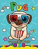 img - for Pug Coloring Book for Kids: Animal Stress-relief Coloring Book book / textbook / text book
