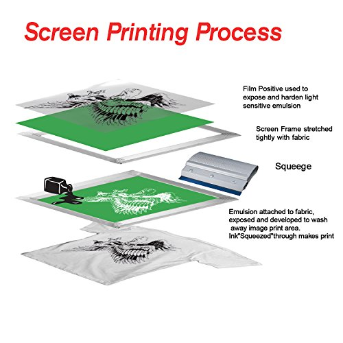 A-SUB 100 Sheets Inkjet Transparency Positive Film 8.5x11 Inches Waterproof for Screen Printing